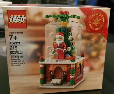 LEGO 40223 Limited Edition Christmas Snow Globe Retired Sealed NEW IN BOX