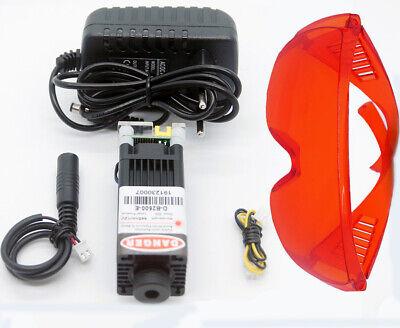 Focusable 450nm 3w Blue Laser Moduleblue Laser Engraver Modulegift Goggles
