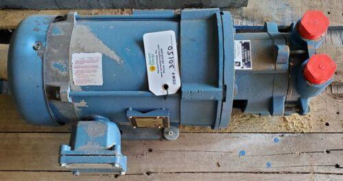 SIHI LEM 40-AZ-AAA-OA-O-AX Liquid Ring Vacuum Pump, 3 HP Explosion Proof