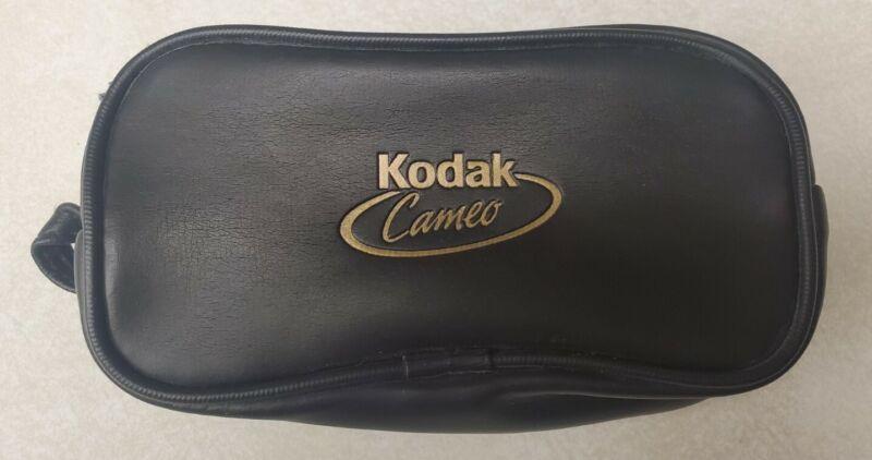 Vintage Kodak Cameo 110 Soft Black Case - Zip Closure CASE ONLY