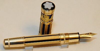 MONTBLANC BANDENBURGER TOR SKELETON 18K GOLD  PEN BNIB #34/89LIMITED EDITION