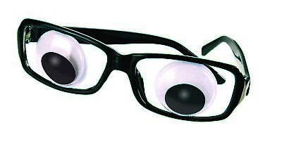 Funny Wiggle Eye Glasses Googly Wiggly Eyes Funny Disguise Fun Accessory