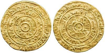 EGYPT, ISLAMIC GOLD FATIMID AV DINAR AL MUSTANSIR  467 AH ( 2ST ) ISKANDARIYA RR segunda mano  Embacar hacia Argentina