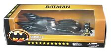 Mezco Toyz, Mezitz, 1989 Batmobile and batman Figure, New and Sealed