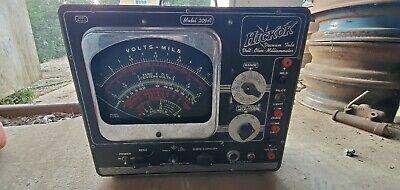 Hickok Model 209a Multimeter Ohmmeter Vacuum Tube Tester