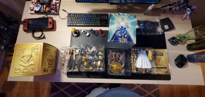 Saint Seiya Myth Cloth EX Virgo Gold Shaka Figure Bandai.