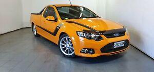 2014 Ford Falcon FG MkII XR6 Ute Super Cab Turbo Orange 6 Speed Sports Automatic Utility Elizabeth Playford Area Preview