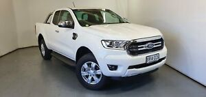 2019 Ford Ranger PX MkIII 2019.75MY XLT White 10 Speed Sports Automatic Super Cab Pick Up Elizabeth Playford Area Preview
