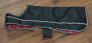 TOP PAW Reflective Black Dog Coat.