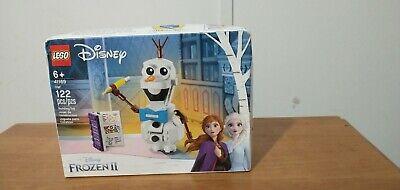 Disney Frozen 2 Olaf #41169 Lego 122 Pcs