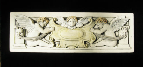 CHERUB  PUTTI   FLORAL  GARDEN   ARTS & CRAFTS GOTHIC ELLISON TILE