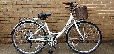 "Ladies Vitesse Heritage City bike - White 17"" Frame"