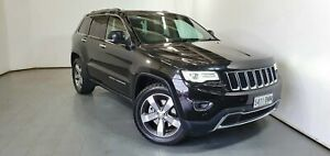 2015 Jeep Grand Cherokee WK MY15 Limited Black 8 Speed Sports Automatic Wagon Elizabeth Playford Area Preview