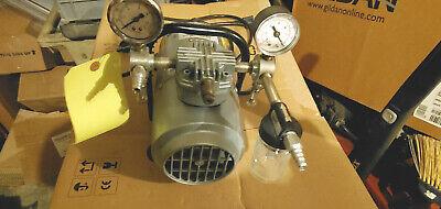 Gast M100gx 16 Hp Piston Air Compressor 115vac Ge Commercial Motors