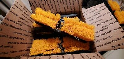 Lot of 8 Rubbermaid Deck Scrub Brush X134 10 in.1 1/8 bristles Professional PLUS Bristle Deck Brush