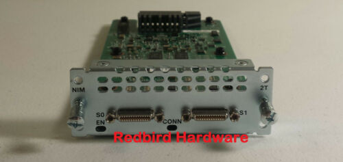 NIM-2T CISCO	2-Port Serial WAN Interface card 800-39453-01