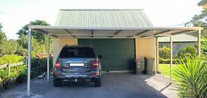 Factory moving Brand new Flat roof carport, 6M wide X 6M long Canberra City North Canberra Preview