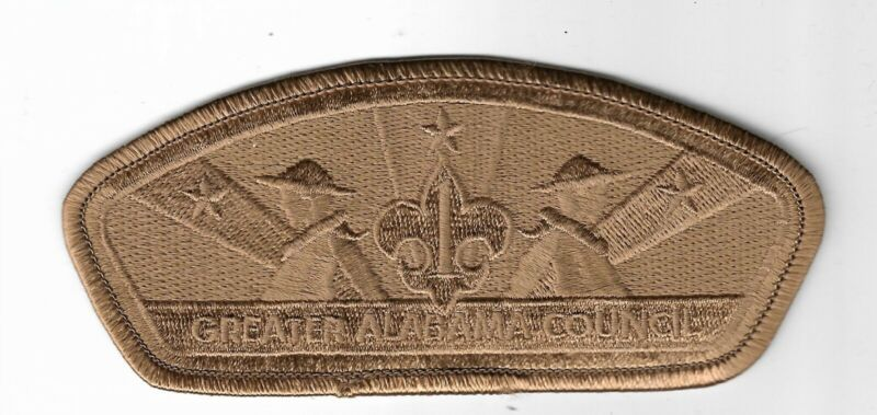 Greater Alabama Council SA-34 2006 Friends of Scouting FOS CSP Brown Ghost Patch