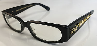 New Rare Black Flys RX ME MYSELF AND FLY Eyewear & Zipper Case-Limited Edition