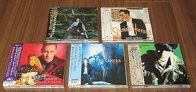 Japan PROMO issue CD x 5 Aztec Camera MORE LISTED obi RODDY FRAME job lot SET