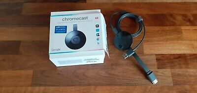 Google Chromecast (2nd Generation) Media Streamer - Black NC2-6A5