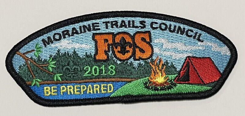 Boy Scout Moraine Trails Council 2018 FOS Be Prepared CSP