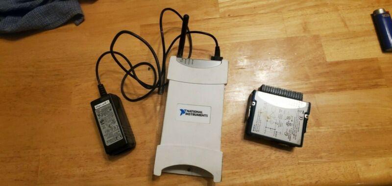 National Instruments WLS-9163 and NI 9213