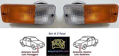 SET 2 Front Bumper Lamp For Suzuki SJ410 Sj413 Santana Samurai Light Indicator