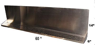 Draft Beer Tower Wall Mt Drip Tray 60 L- S.s.grill - Drain - Dtwm60ss