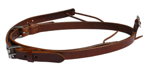 Pony Saddle Leather Rear Flank Set Made In The U.S.A.