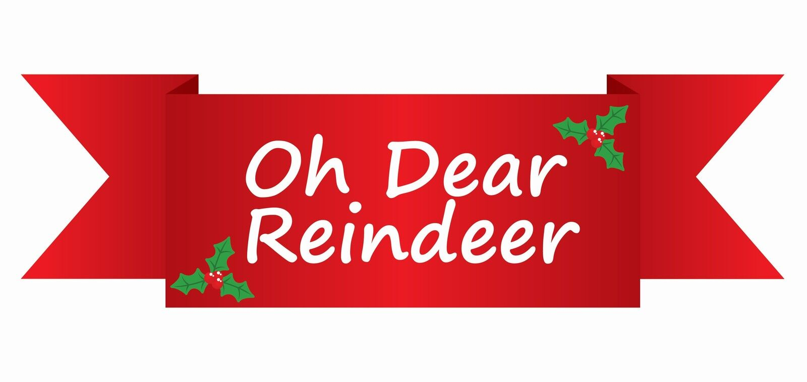 Oh Dear Reindeer
