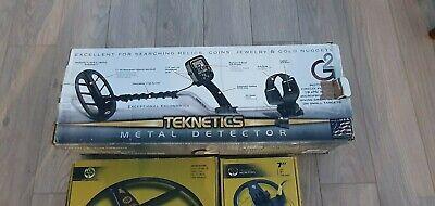 Teknetics G2+ used metal detector
