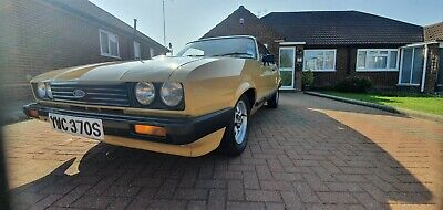 Ford Capri 1.6L 1978 mk3 1 previous owner 43000 miles from new