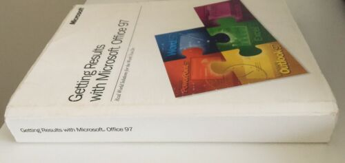 GETTING RESULTS WITH MICROSOFT OFFICE 97 - MANUAL - NO SOFTWARE - $5.00