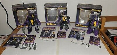 Fansproject Transformers-Insecticon Trio 99%complete Bombshell Kickback Shrapnel