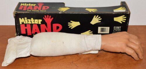 MISTER HAND The Handy Vintage Prank Gag Halloween Arm ©1990 GEMMY w/ORIG BOX