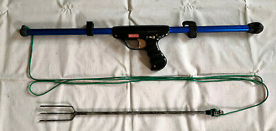 Fucile Molla Subacqueo Sub Cressi Micro Saetta Funzionante Set Completo Vintage