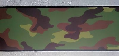 Camouflage Camo Military Army Marines Air Force Wall Wallpaper Border - Green Air Force Wallpaper