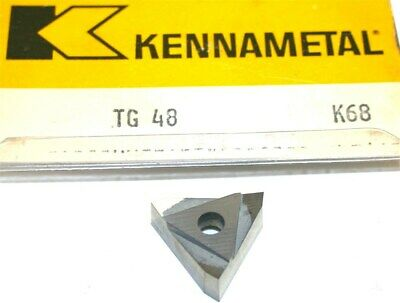 Lot Of 3 New Kennametal Indexable Carbide Inserts Tg48 K68