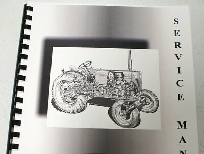 Massey Ferguson Mf 1250 Dsl Compact Trac 24wd Service Manual