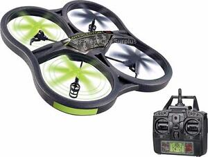 WORLD TECH QUALITY 4.5 CHANNEL INTERCEPTOR SPY DRONE QUADCOPTER COMPLETE WITH CAMERA - READY TO FLY AND HAVE FUN!