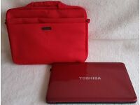 Laptop/Tablet Carry Case padded with shoulder strap up to 15.6 laptop