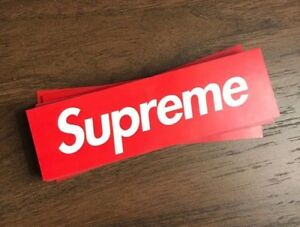 Red Supreme Stickers Cheap