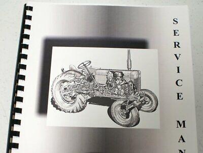Misc. Tractors Economy Jim Dandy Power King Model Tractors Service Manual