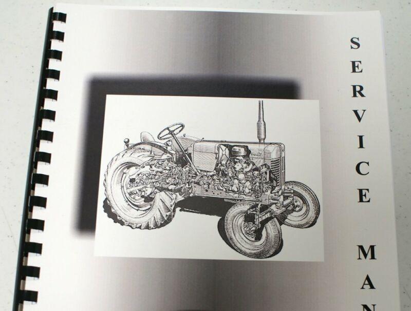 Massey Ferguson MF 60H Service Manual