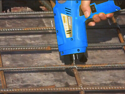 Automatic Electric Cordless Rebar Tier Tying Binding Machine 8-34mm 2200mah Wire