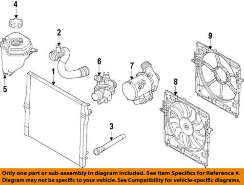 Bmw Oem 07-10 X5-движок водяной насос 11517568595 | eBay | 2008 Bmw X5 Engine Diagram |  | eBay