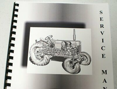 Misc. Tractors Pettibone Super 4 Forklift Continental Engine Onl Service Manual