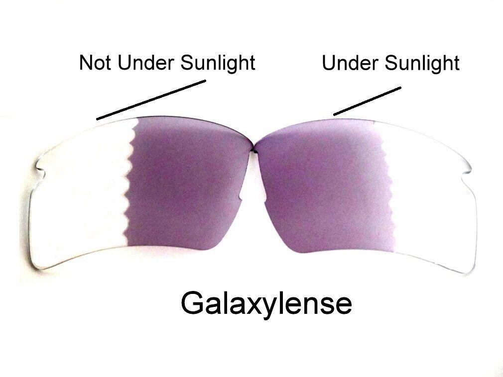 a444bfa9c06c4 Galaxy Lente de Repuesto Oakley Flak 2.0 XL Gafas Sol Fotocromático  Transición