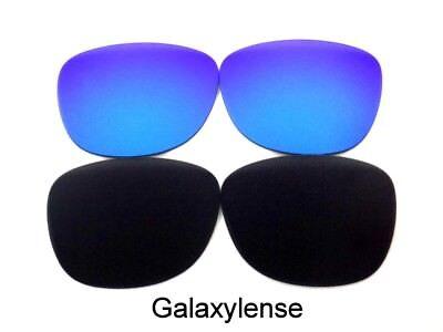 Galaxy Ersatzgläser für Ray Ban RB3016 Clubmaster Schwarz/Blau 51mm